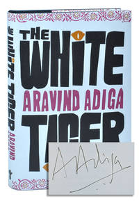 image of THE WHITE TIGER - SIGNED