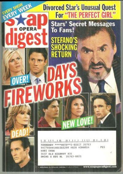 SOAP OPERA DIGEST - Soap Opera Digest July 8, 2008