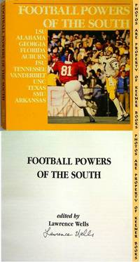 Football Powers Of The South: Louisiana State University Fighting Tigers  (LSU) by  Lawrence (Author / Editor) Wells - Paperback - Signed First Edition - 1983 - from KEENER BOOKS (Member IOBA) and Biblio.com
