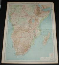 image of Map of Central & Southern Africa from the 1920 Times Survey Atlas (Plate 70) including Cameroons, Gambon, French Equatorial Africa, Abyssinia, Belgian Congo, Tanganyika Territory, Angola, Rhodesias, Transvaal, Madagascar, etc