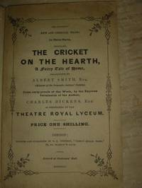 The Cricket on the Hearth, A Fairy Tale of Home