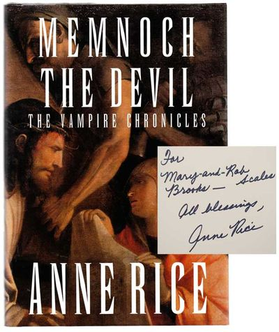 New York: Alfred A. Knopf, 1995. First edition. Hardcover. A novel set in her popular vampire world....