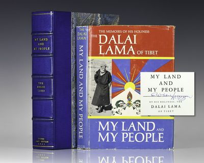 New York: McGraw-Hill Book Company, Inc, 1962. First edition of the Dalai Lama's first autobiography...