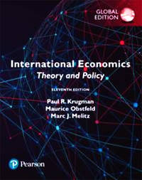 International Economics: Theory and Policy, Global Edn 11 Edition