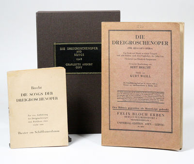 Wien: Universal-Edition, 1928. First edition. Original wrappers. Very Good. THE RARE FIRST EDITION O...