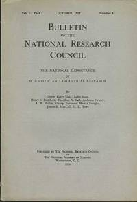 NATIONAL IMPORTANCE OF SCIENTIFIC AND INDUSTRIAL RESEARCH, The.
