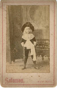 A VINTAGE ORIGINAL PHOTOGRAPH by SOLOMON depicting a young actor in the role of LITTLE LORD FAUNTLEROY.