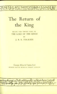 image of The Return of the King (Lord of the Rings, Part Three)