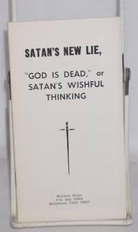 image of Satan's new lie,