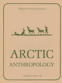 image of ARCTIC ANTHROPOLOGY. Vol. 20, No. 2. 1983. (Cover title)