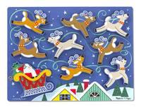 SANTA & Reindeer Chunky Puzzle