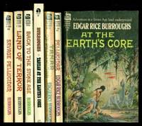 image of PELLUCIDAR SERIES:  At the Earth's Core; Pellucidar; Tanar of Pellucidar; Tarzan at the Earth's Core; Back to the Stone Age; Land of Terror; Savage Pellucidar