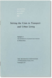 Solving the Crisis in Transport and Urban Living: Highlights of The Metropolitan Transportation Problem