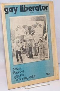 image of Gay Liberator [aka Detroit Gay liberator] vol. 1, #46, Fall 1975; Sappho, Consenting Adult