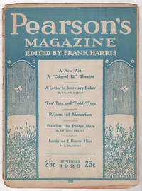 "Pearson's Magazine, Volume 46, Number 3 (September 1920) - includes ""Face"" by Aleister Crowley"