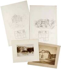 Massive Primary Source Archive of over 700 Original Architectural Drawings of Swiss Architect David Rordorf-Mahler, architect in Zurich (1856-1936)