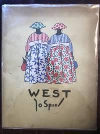 West Met Tekst Van Piet Bakker Jo Spier Original 1948 Hardcover