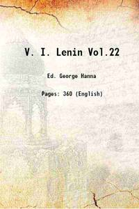 V. I. Lenin Vol.22 1916 [Hardcover]