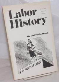 image of Labor history. vol 17, no. 1, Wnter, 1976