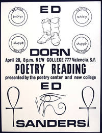 Poetry Reading Announcement Broadside-Poster