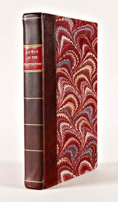 Philadelphia: H.C. Carey & I. Lea, 1825. vii,,-347pp. Modern antique-style half calf and marbled boa...