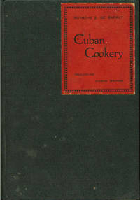 CUBAN COOKERY including Cuban Drinks