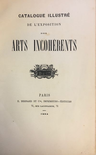 Well illus. : 102 engravings & 2 photo plates. Stiff wraps. The Incoherents were an artist group for...