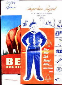 BEAR CUB SCOUT BOOK Christmas and Inspection brochures