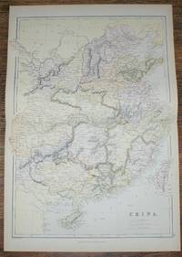 1884 Blackie's Map of China