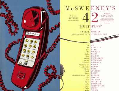 SF: McSweeney's , 2013. Paperback. Very good. Very good in publisher's wraps.