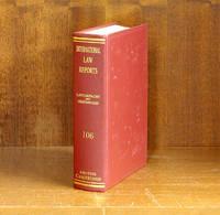 International Law Reports. Volume 106 (1997)