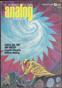 Analog Science Fiction / Science Fact, February 1974 (Volume 92, Number 6) by Ben Bova; Stephen Nemeth; William Walling; Joe Haldeman; P. J. Plauger; Brian C. Coad; Glenn L. Gillette; J. J. Trembly; James E. Thompson; David L. Heiserman - February 1974