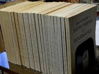 Bibliotheque d'Humanisme et Renaissance, 1967-1974