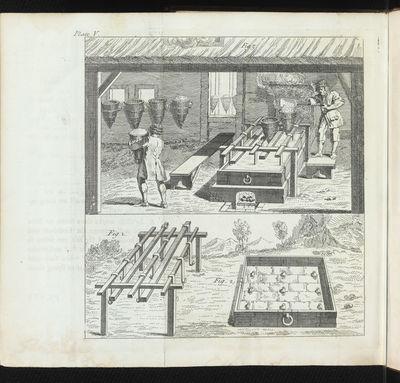 Six folding engraved plates. xxiv, 295 pp., one leaf of errata. 8vo, cont. calf, double gilt fillet ...