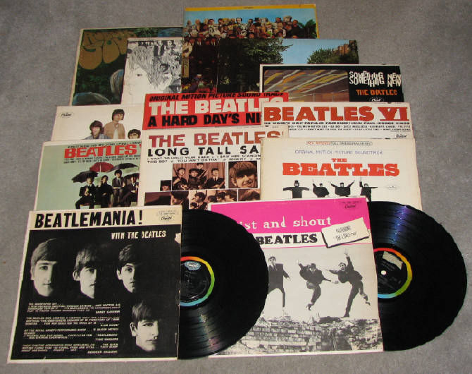 Beatlemania With The Beatles Something New Beatles 65