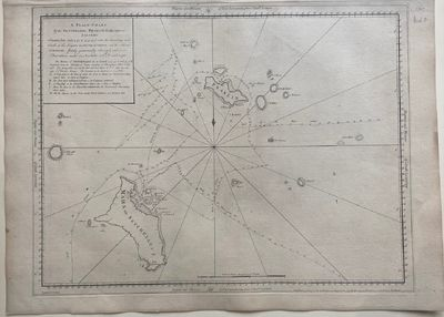 London, 1767. unbound. Sea chart. Uncolored copper plate engraving. Image measures 16 3/4