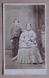 Carte De Visite Photograph. Portrait of a Mother & Son.