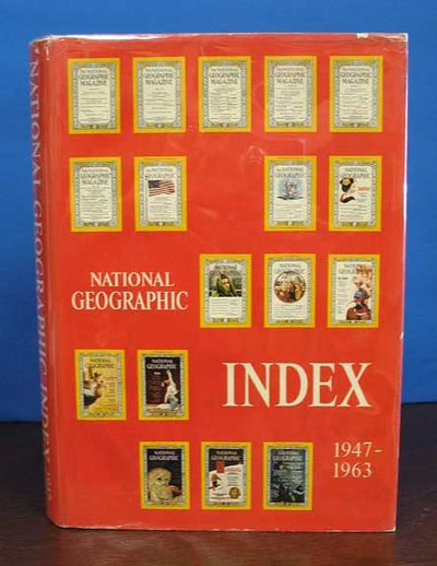 Washington, DC: National Geographic Society, 1964. 1st edition. Hardback. Dust jacket. Nr. F/VG (lt ...