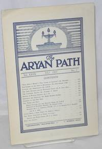 The Aryan path; organ of the Indian Institute of World Culture. Vol. xxviii, no. 7 (July 1957)