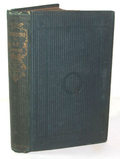 Boston: Ticknor and Fields, 1863. First Edition. Very good+ in the publisher's original dark green s...