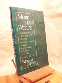 More Than Words by Sydnor, William - 1990