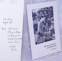 Between sueño and halcyon [inscribed & signed]