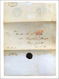 Autograph letter, signed Mary I. Knill, to the Rev. R. S. Cook of the American Tract Society.