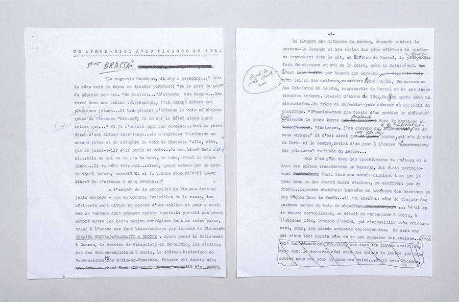 Unpublished Typescript With Manuscript Corrections Un