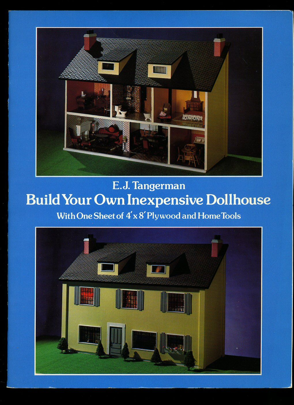 Build your own inexpensive doll house with one sheet of 4 for Building your own home in colorado