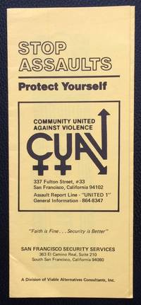image of Stop Assaults: protect yourself [brochure]
