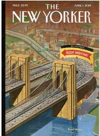 image of NEW YORKER: COVER BROOKLYN or BUST by BRUCE McCALL