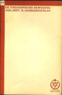 De Theosofische Beweging. Jaargang 27(1931)No. 8-9, 10, 11, 12
