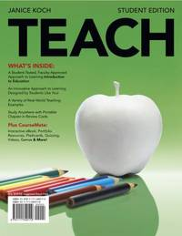 image of TEACH (with Review Card and Education CourseMate with eBook Printed Access Card) (What's New in Education)
