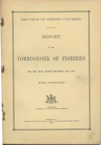 image of Province of British Columbia Report of the Commissioner of Fisheries For the Year Ending December 31st, 1920 With Appendices